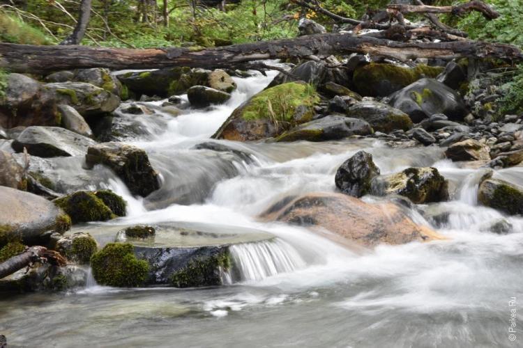 ушуайя водопад