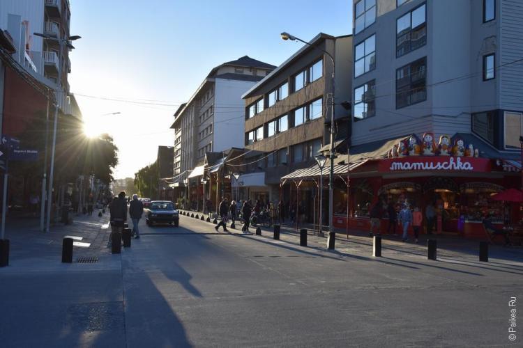 улица в барилоче