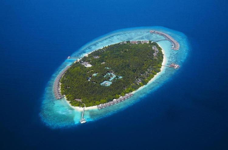 пляжные виллы Мальдив для отдыха с детьми остров dusit thani