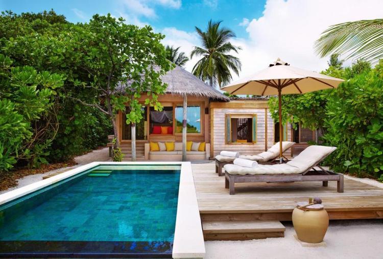 пляжные виллы Мальдив для отдыха с детьми 29