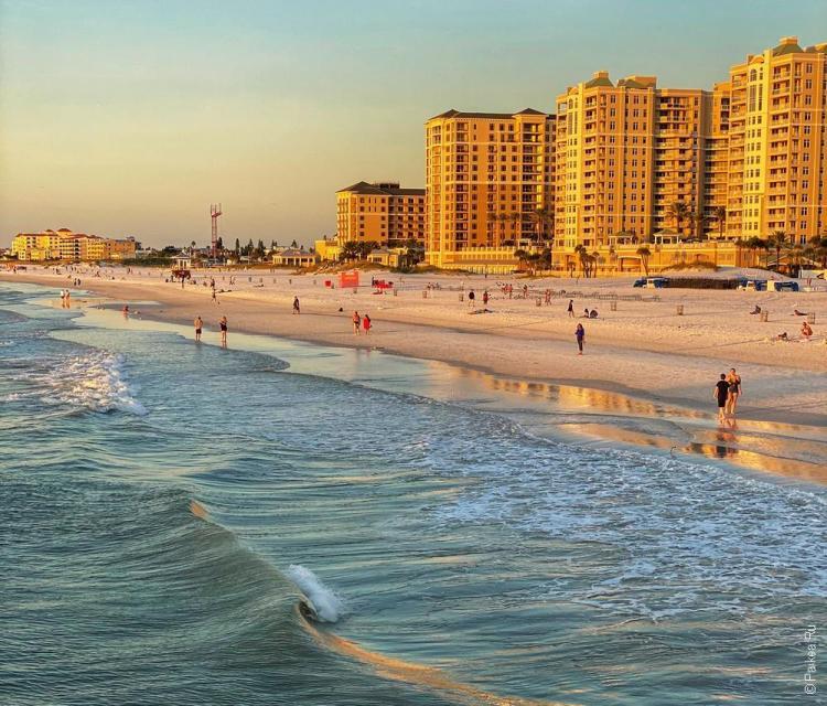 пляж клируотер флорида сша