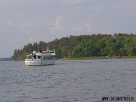 ferry archipel de Stockholm