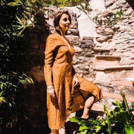 robe en soie Maison Tika