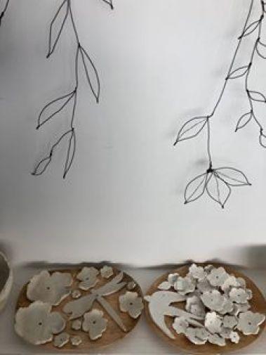 porcelaine et fil de fer