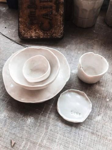 coupelles porcelaine