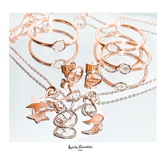 bijoux en or Sylvia Corrette