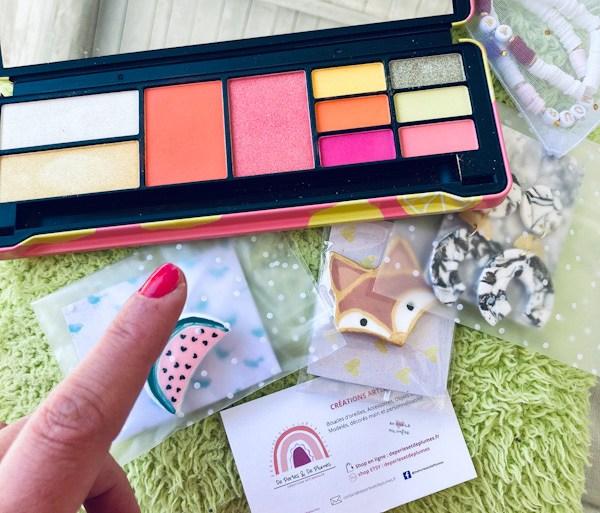palette colorée