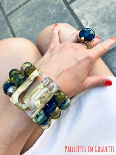 bijoux en résine artisanale Dominique Denaive