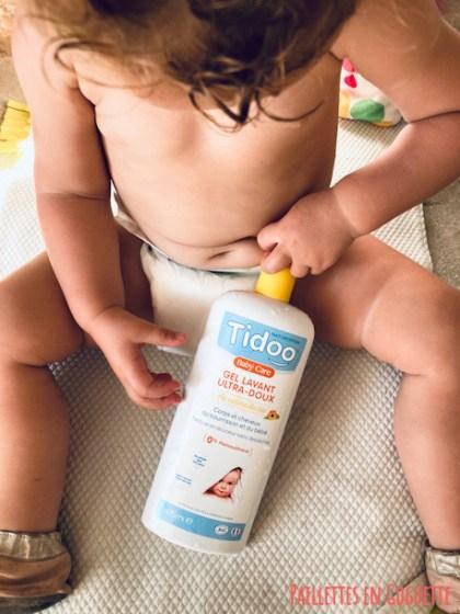 gel lavant bio bébé