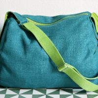 Möbelstoff für eine Sporttasche/ Tissu d'ameublement et sac de sport