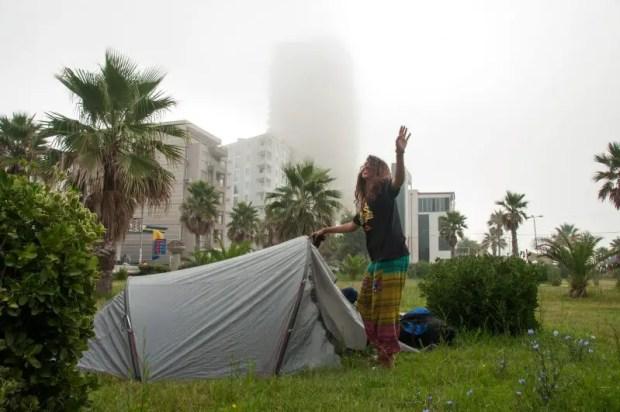 campeggio libero free camping nei balcani in albania