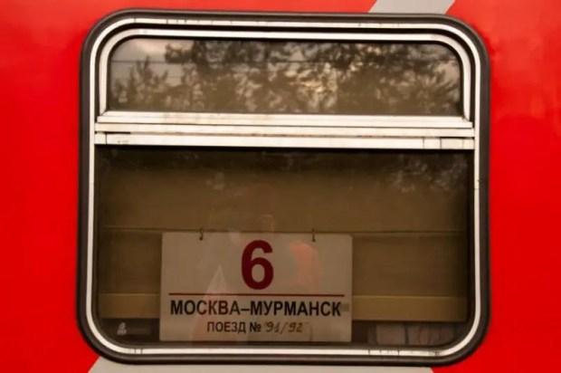 murmansk russia treno viaggio nord