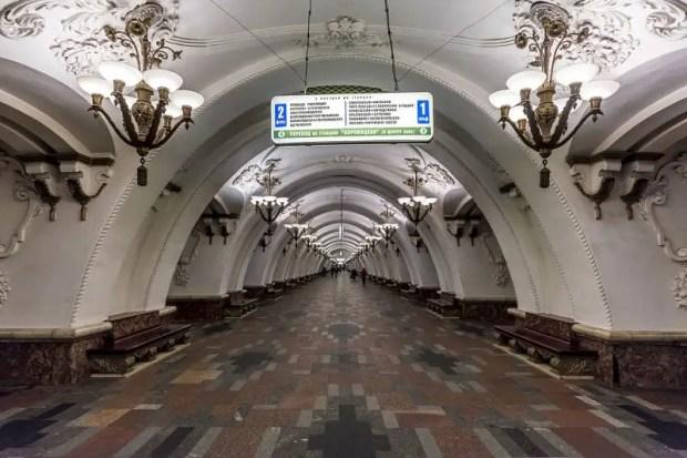 metro di mosca arbatskaya