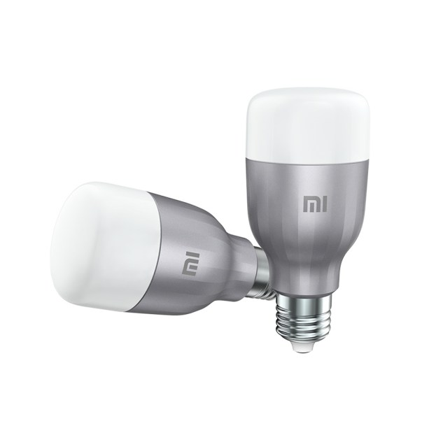 Kit com 2 Lâmpadas Inteligentes Mi Led Smart Bulb