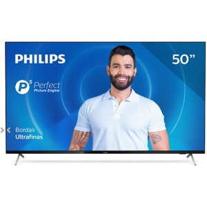 Smart Tv Philips 50pug7625/78 4k Uhd P5 Hdr10 Bluetooth Wi-fi 3 Hdmi