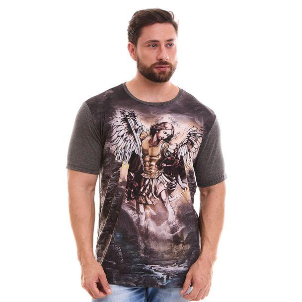 Camiseta São Miguel Arcanjo DV8060 P