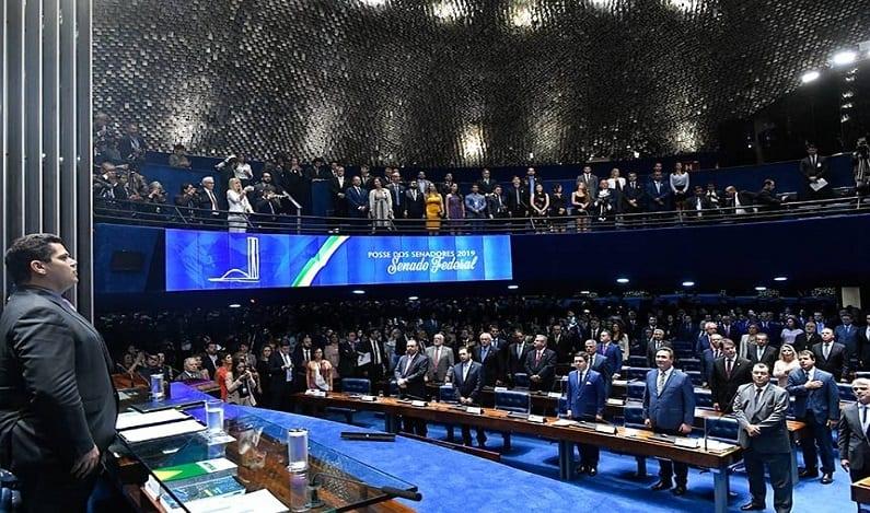 Senado abre o ano com 16 bancadas partidárias, acompanhe a cobertura da posse dos senadores e da eleição da Mesa