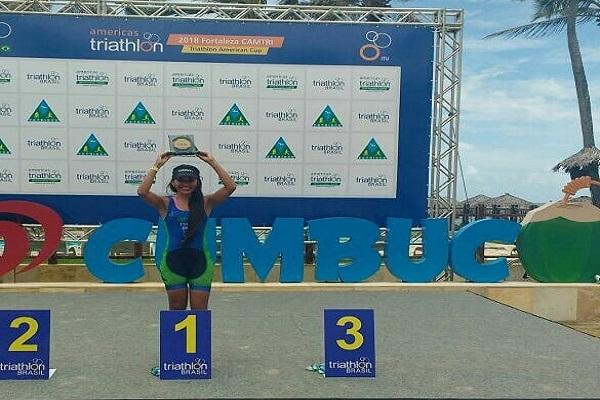 Patrocínio da Energia Sustentável do Brasil leva triatleta de RO ao pódio em prova nacional
