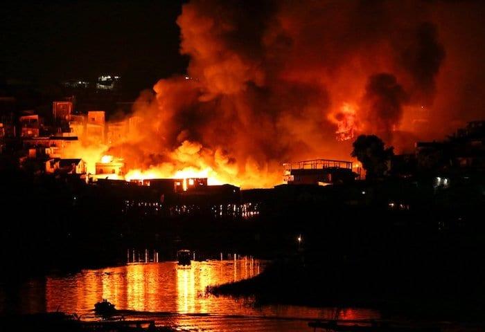 Panela de pressão pode ter causado incêndio que atingiu 600 casas em Manaus