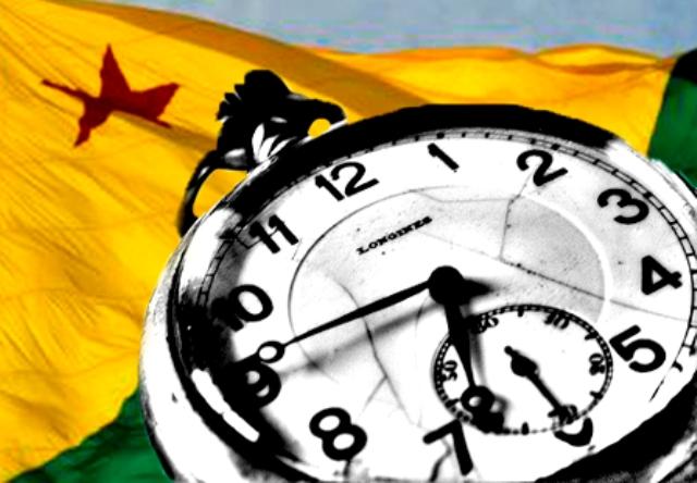 Acre volta a ter fuso de duas horas a menos que Brasília