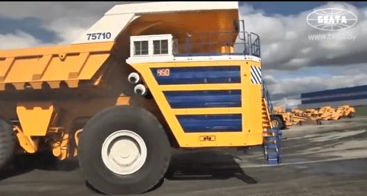 Conheça BelAZ 75710: o novo maior caminhão do mundo