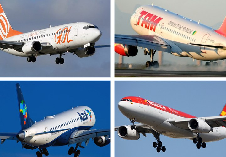Empresas aéreas lançam voos extras para a alta temporada