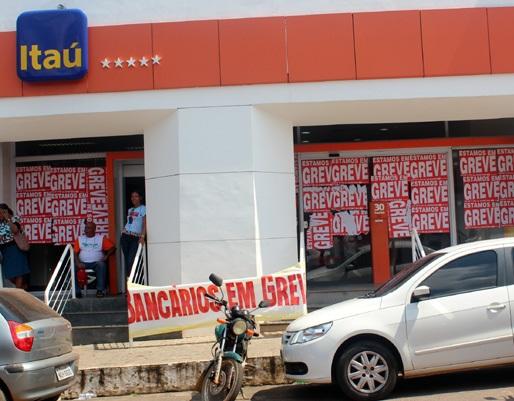 Greve dos bancos já agrava o comércio de Porto Velho