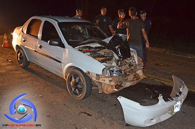 Rapaz de 17 anos morre após acidente no interior