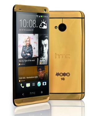 Celular de ouro da HTC sairá  por R$ 9,7 mil