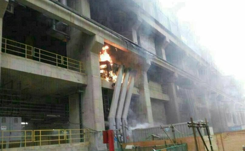 MPT confirma três feridos no incêndio de usina