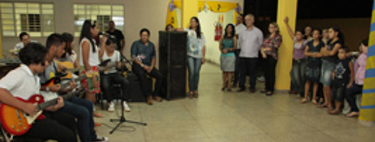 Prefeitura inaugura escola de música na zona Sul