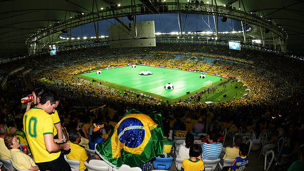 Fifa proíbe de tablet a corneta e limita bandeira em estádios; veja lista