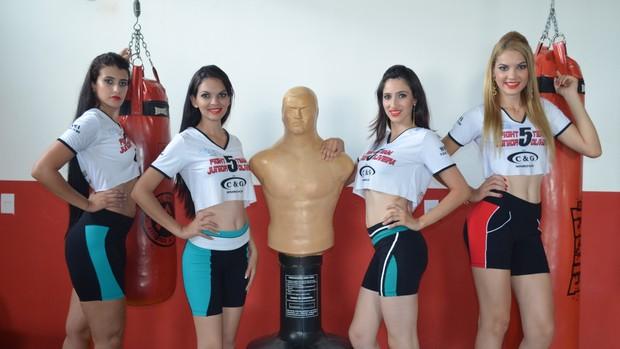 Conheça as candidatas à ring girl oficial do Fight Team Junior Oliveira