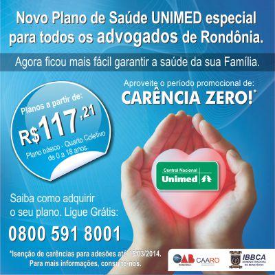 Caixa dos Advogados oferece plano de saúde Unimed Nacional