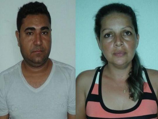 PC captura casal foragido da justiça e apreende vários veículos