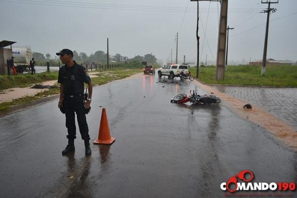 Motoqueiro morre ao bater em cavalo solto em Ji-Paraná
