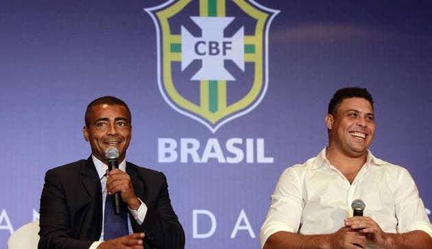 """Ronaldo responde acusações de Romário: """"Oportunismo ou ignorância"""""""