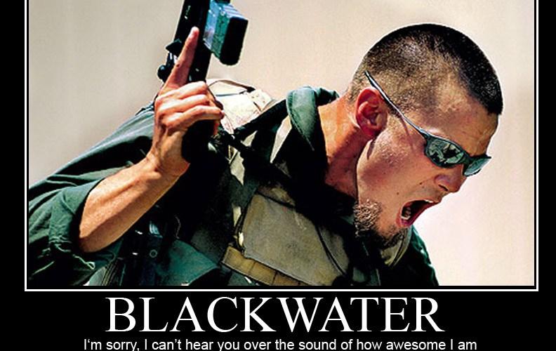 O Brasil e os mercenários da Blackwater
