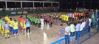 Começa Copa Municipal de Futsal em Seringueiras