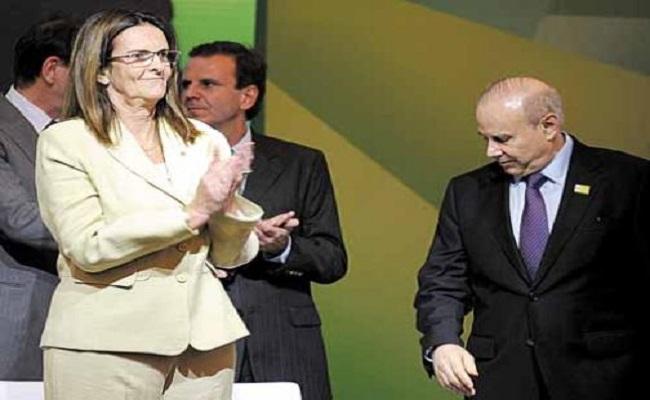 Mantega e Graça continuam no conselho da Petrobras