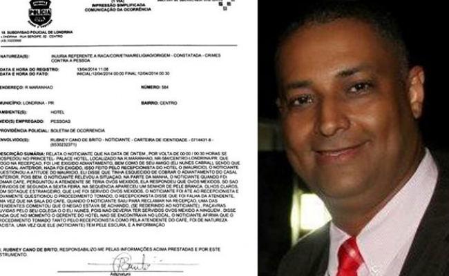 Advogado de Mato Grosso diz ter sido vítima de racismo em hotel no Paraná