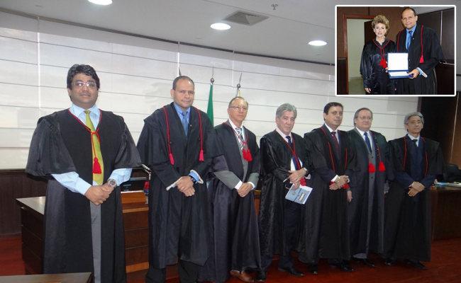 Presidente do TRE relata providência para superar alagação do Tribunal