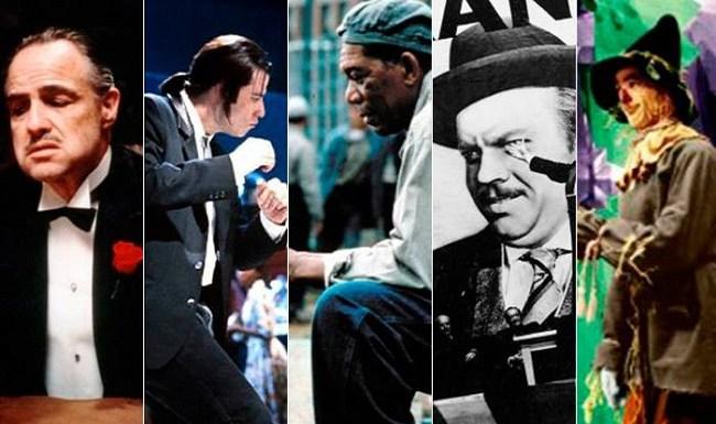 Hollywood lista os 100 melhores filmes