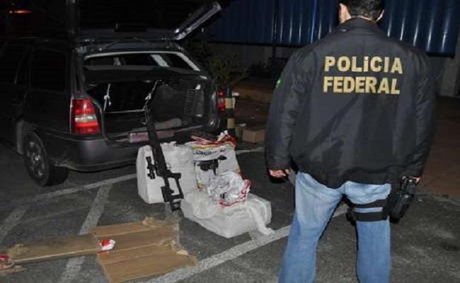 Idoso é preso com cerca de 80kg de maconha e fuzil em PE