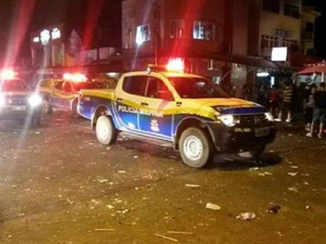 PMs em Porto Velho são agredidos e sofrem lesões graves.