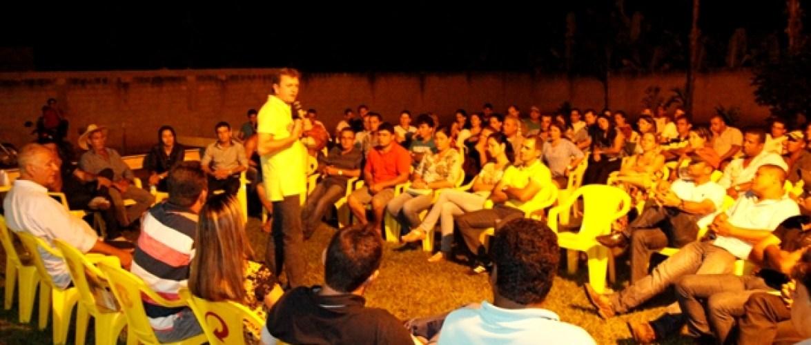 Em Alvorada Luizinho recebe grande apoio à reeleição