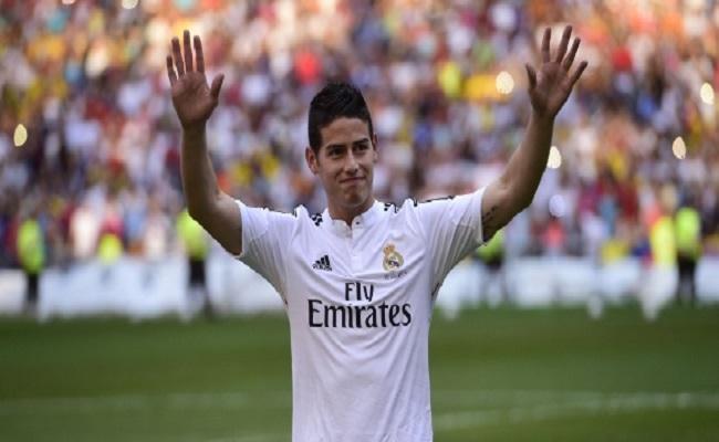 Sonho de James, o novo astro do Real, era jogar no algoz do Corinthians