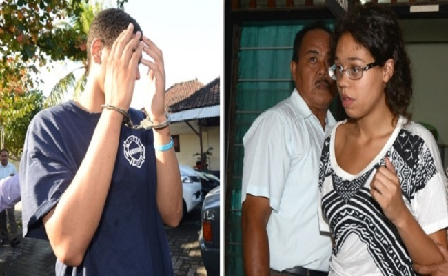 Casal americano é indiciado por morte de mulher achada em mala na Indonésia