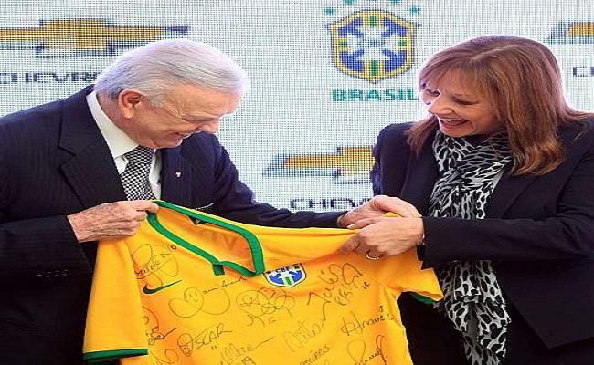 General Motors é a nova patrocinadora oficial da seleção brasileira