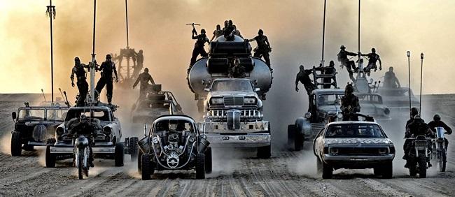 Mad Max voltará aos cinemas em 2015 com delírios automotivos